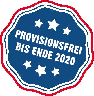 Provisonsfrei verkaufen bis Ende 2020